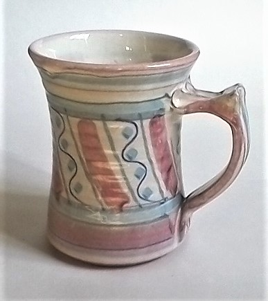 Painted Tankard clearly marked GE Ge110