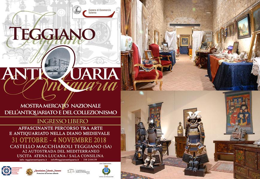 Teggiano Antiquaria - Mostra Mercato Nazionale Antiquariato e Collezionismo 868x5910