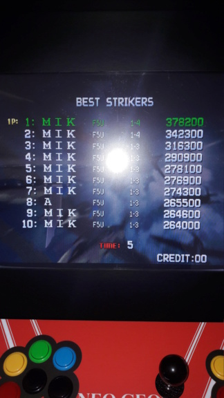 [scoring] strikers 1945+ 20181110