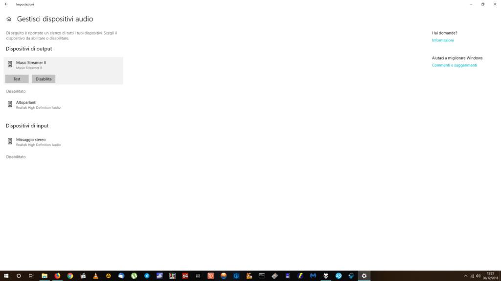 Music Streamer II problemi all'avvio di Windows 10 Screen10
