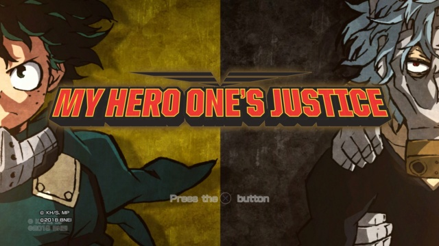 MyHeroAcademia - Review: My Hero One's Justice (PS4 Retail) Wvam1012