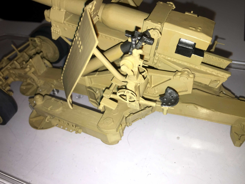 Modell der 12,8-cm-PaK 44 in M1:25 Modelik gebaut von Lorel Img_1310