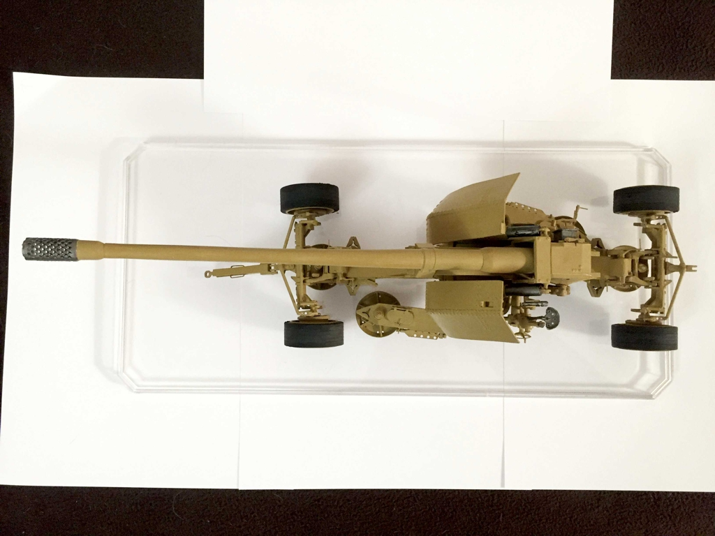 Modell der 12,8-cm-PaK 44 in M1:25 Modelik gebaut von Lorel Img_1311