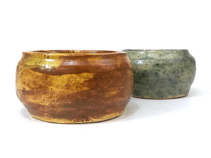 RM or PM Mark 1970 Pair Crude Bowls 2_copy10