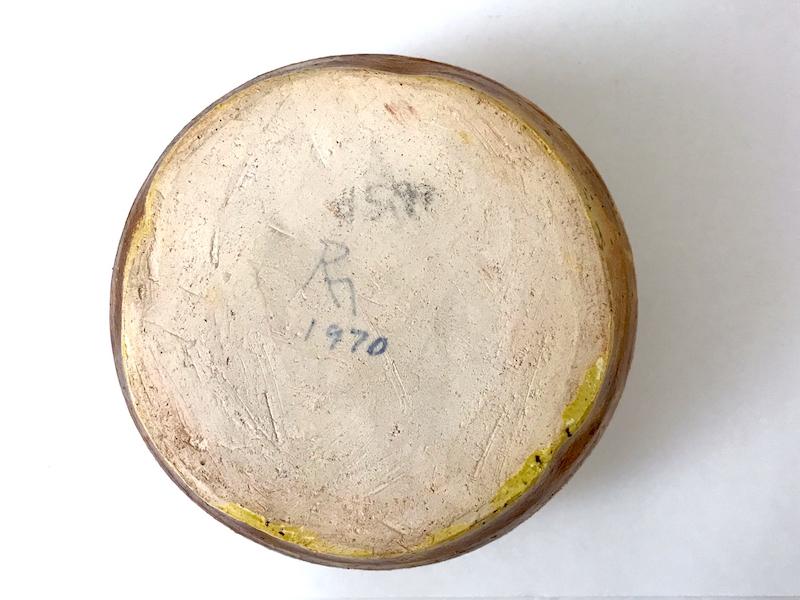 RM or PM Mark 1970 Pair Crude Bowls 6_copy11