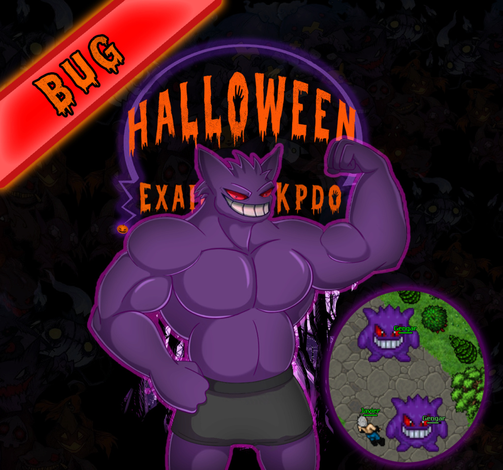 Bug Halloween Gengar ¡¡¡Cuidado!!! Gengar10