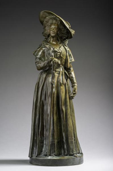 A vendre : statuette en marbre représentant la Reine Marie-Antoinette 15674310