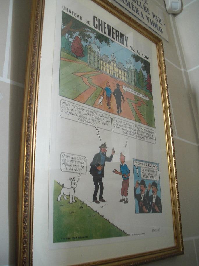 Avec Tintin, à la découverte du château de Cheverny Cimg4611