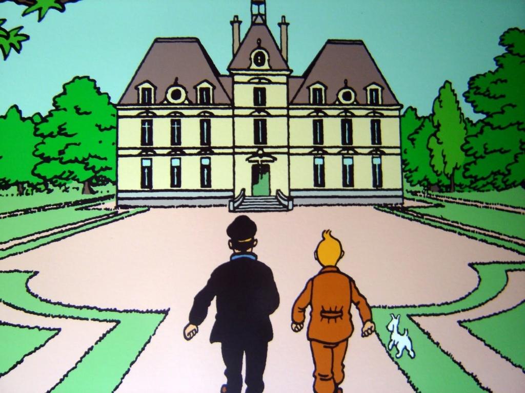 Avec Tintin, à la découverte du château de Cheverny Moulin10