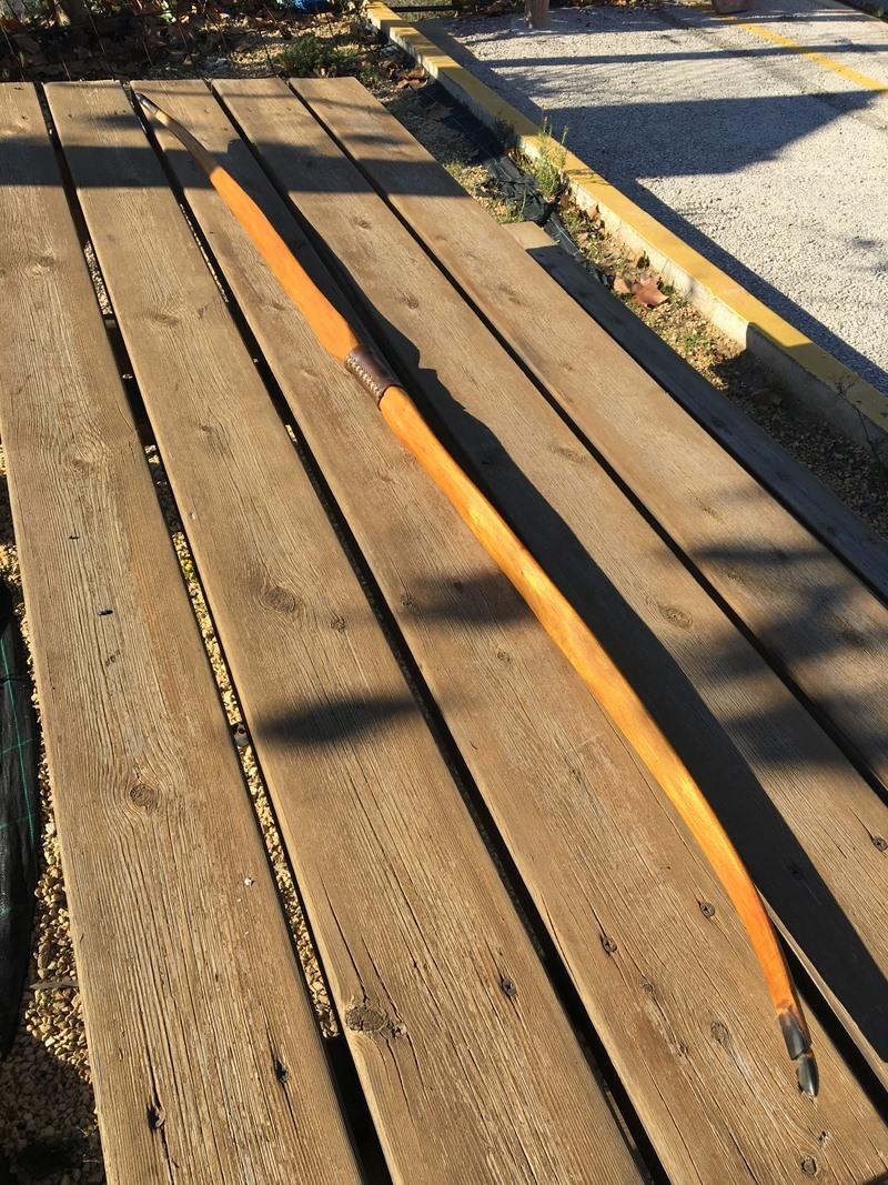 ARCO DE OSAGE 65'' 42Lb Foto_131