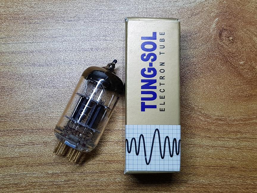 KT77, 12AX7 and 12AU7 Vacuum Tube - Gold Lion - Tungsol - Mullard (Sold) 20200613