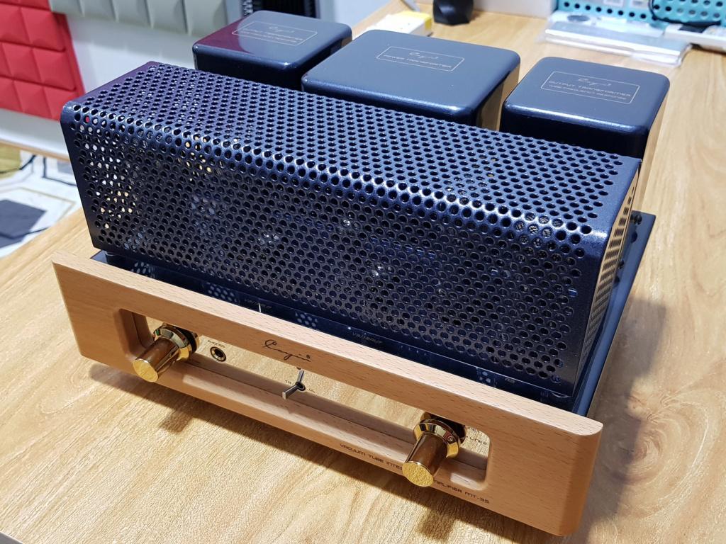 Cayin MT35 MK2 Tube Amp + Chario 516R Bookshelf Speaker Mt35_111