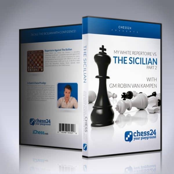 My White repertoire vs. the Sicilian The Rossolimo – GM Robin van Kampen My-whi10