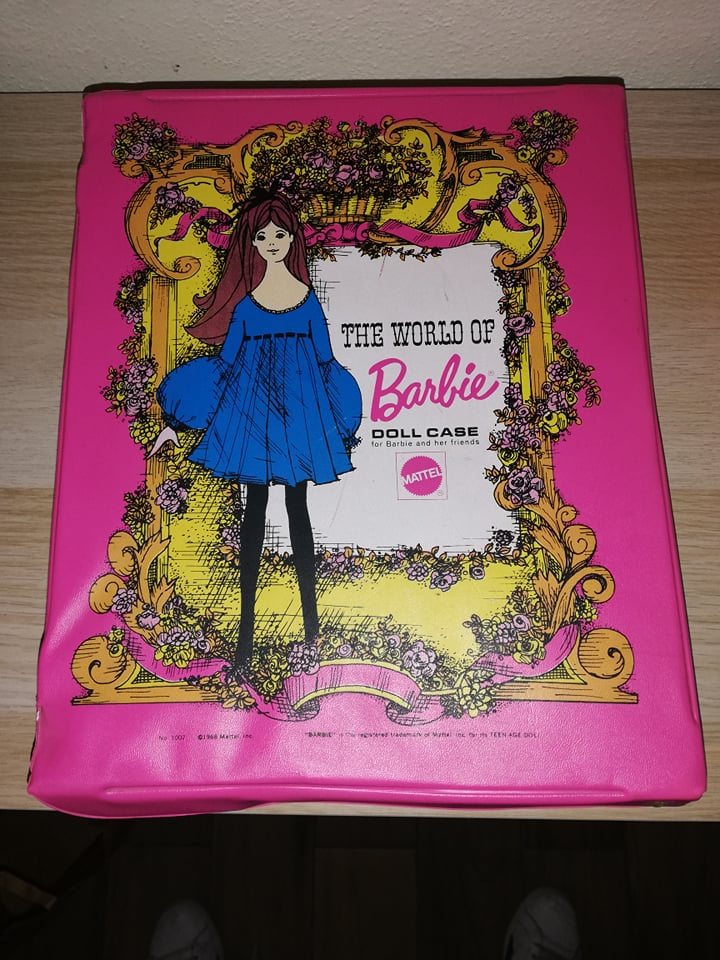 Doll case Barbie 1968 66045810