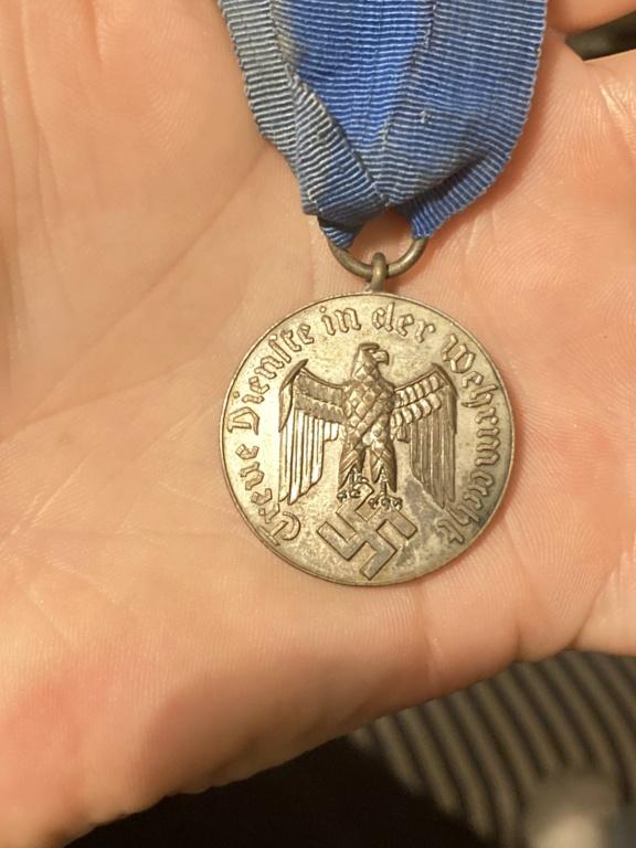 Médaille 4ans de service wehrmacht  09aa8f10
