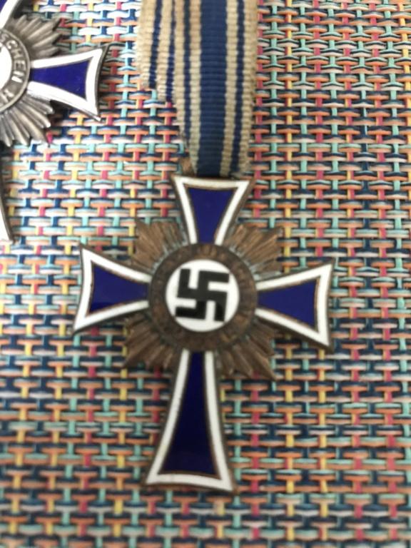 Trio médailles des mères allemande 17219a10
