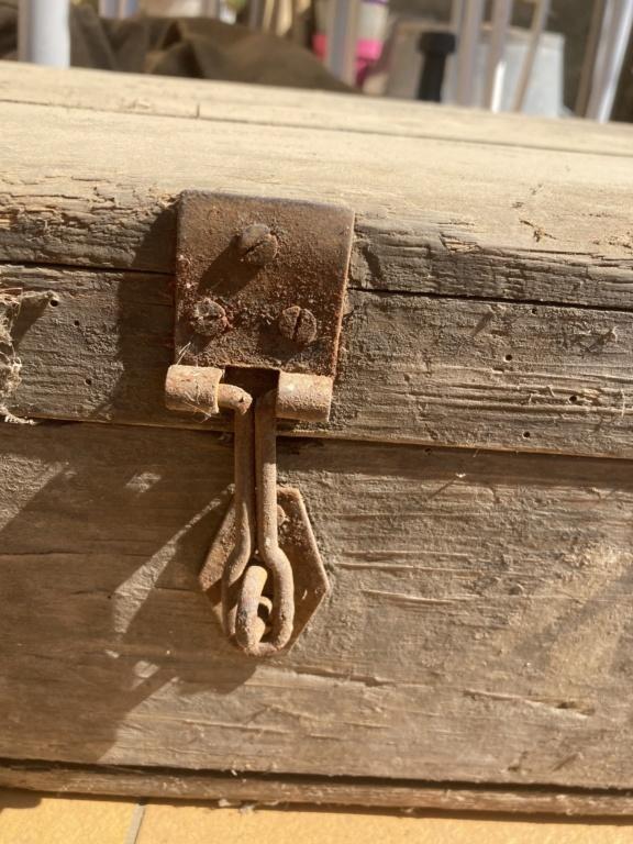 Claie de portage obus 10,5cm et caisse inconnue 32ca2210