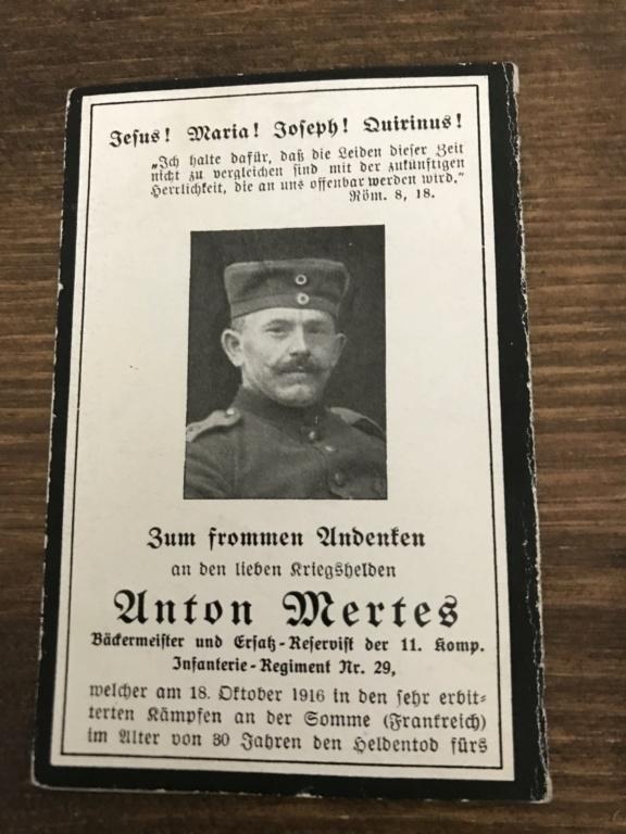 Avis de décès soldat allemand 14-18  - Page 2 43777610