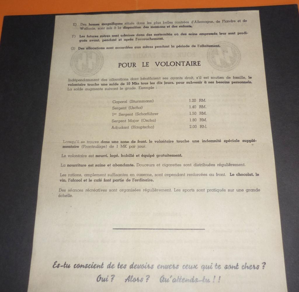 Cartes postales Légion Wallonie 44eed510