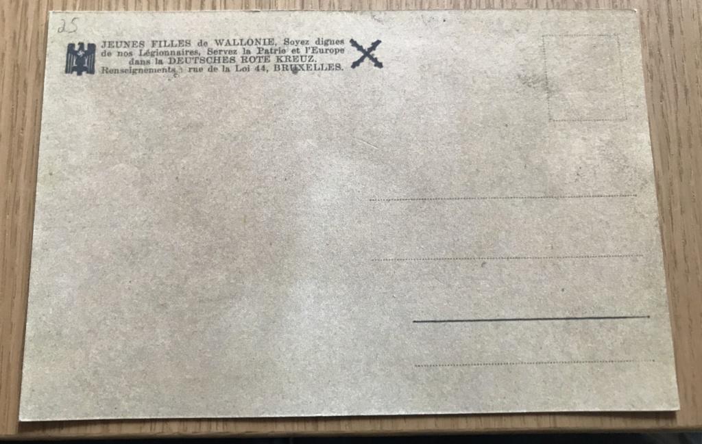 Cartes postales Légion Wallonie 45d43510