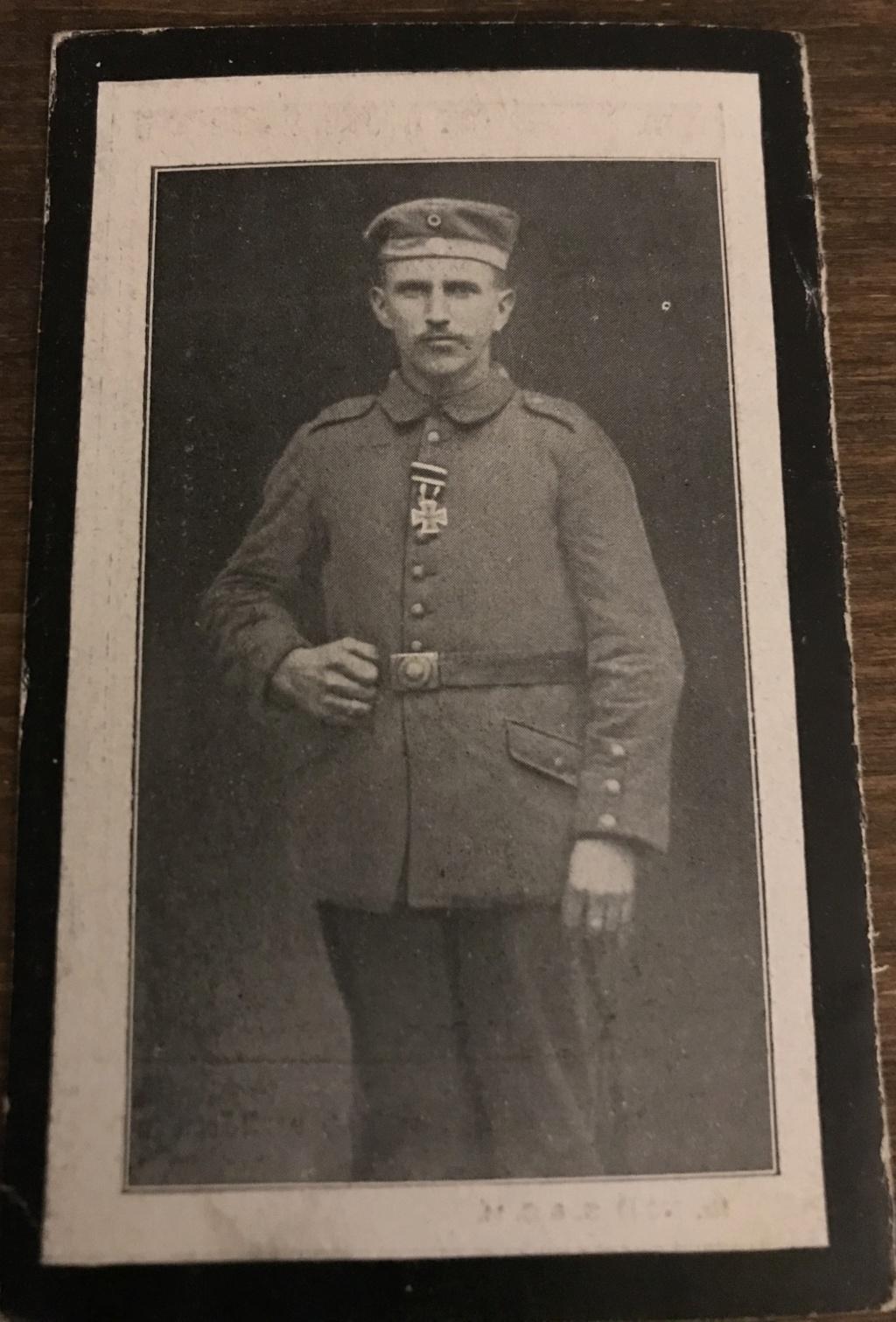 Avis de décès soldat allemand 14-18  - Page 2 506b8710
