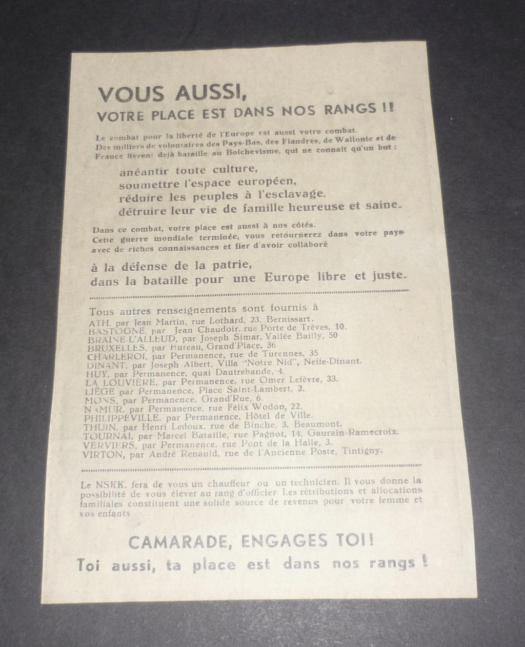 Cartes postales Légion Wallonie 60cbe910