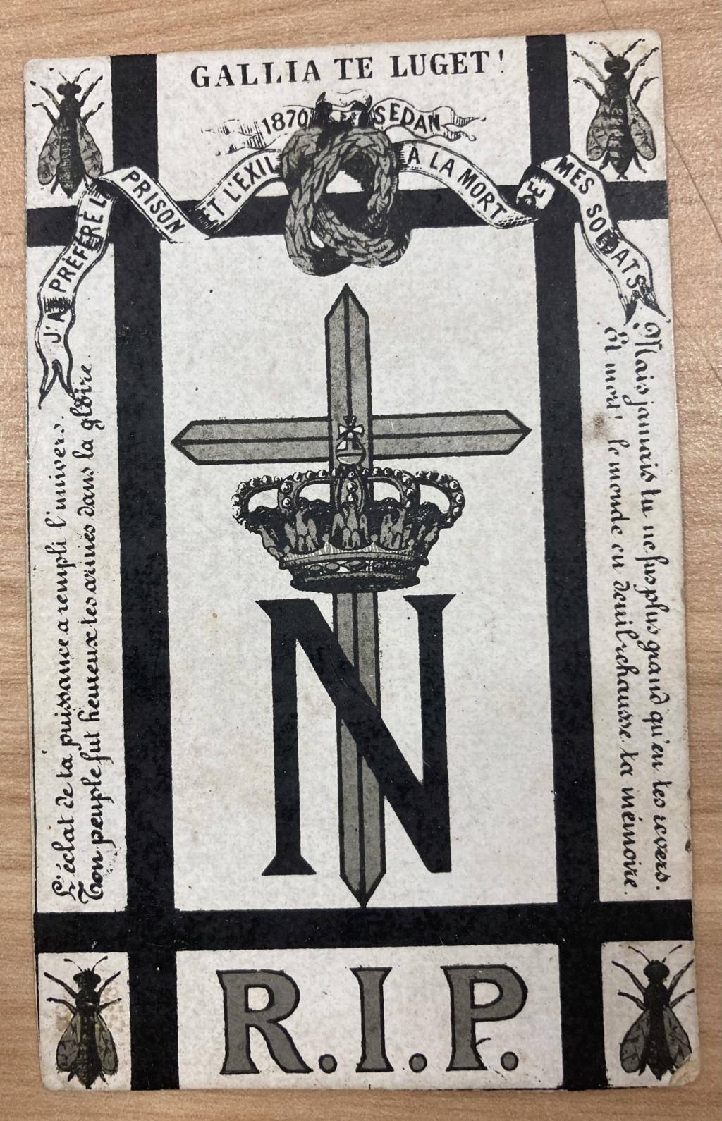 Carte mortuaire Napoleon 3 6136d210