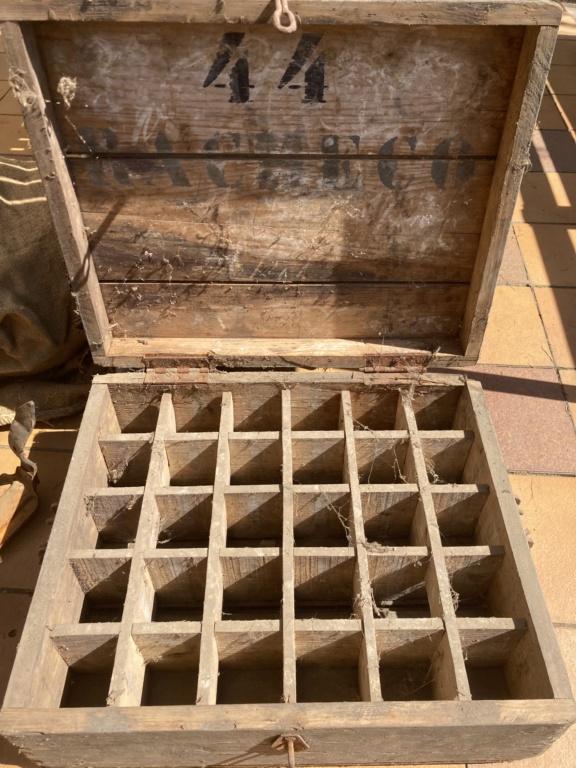 Claie de portage obus 10,5cm et caisse inconnue 926f1f10