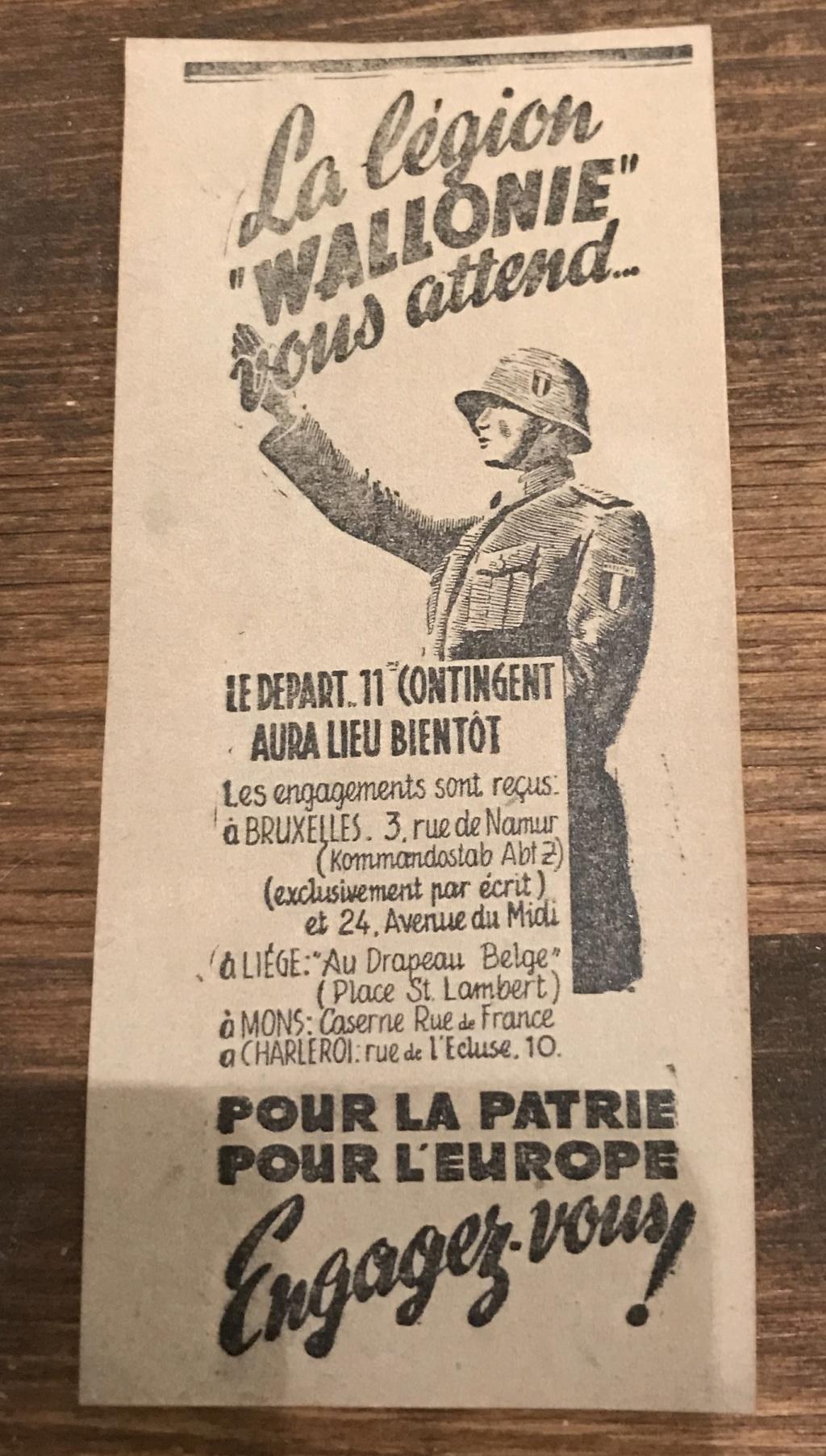 Cartes postales Légion Wallonie A0312910