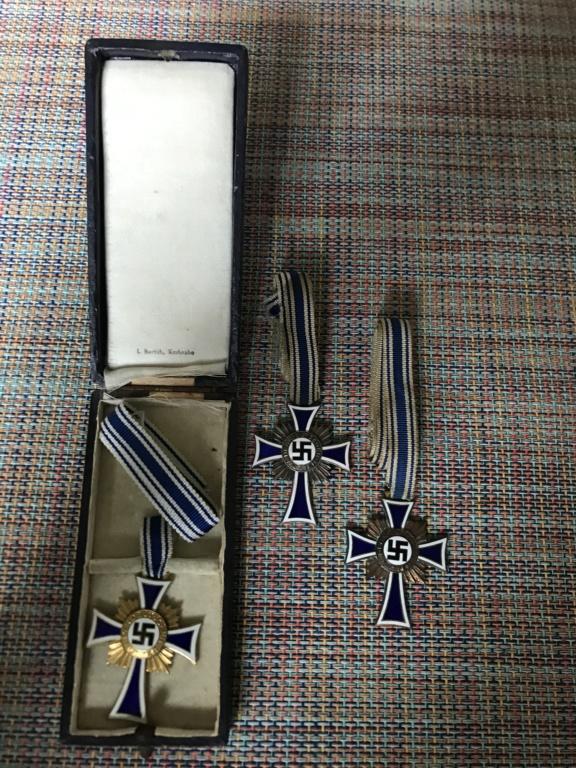 Trio médailles des mères allemande A954a710