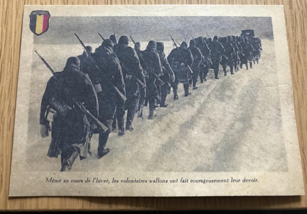 Cartes postales Légion Wallonie B5899510