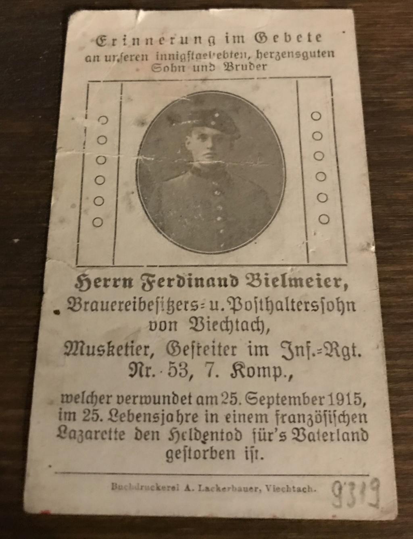 Avis de décès soldat allemand 14-18  - Page 2 Bfd5c310