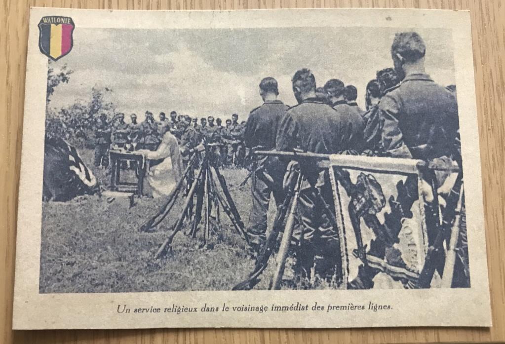 Cartes postales Légion Wallonie C44bef10