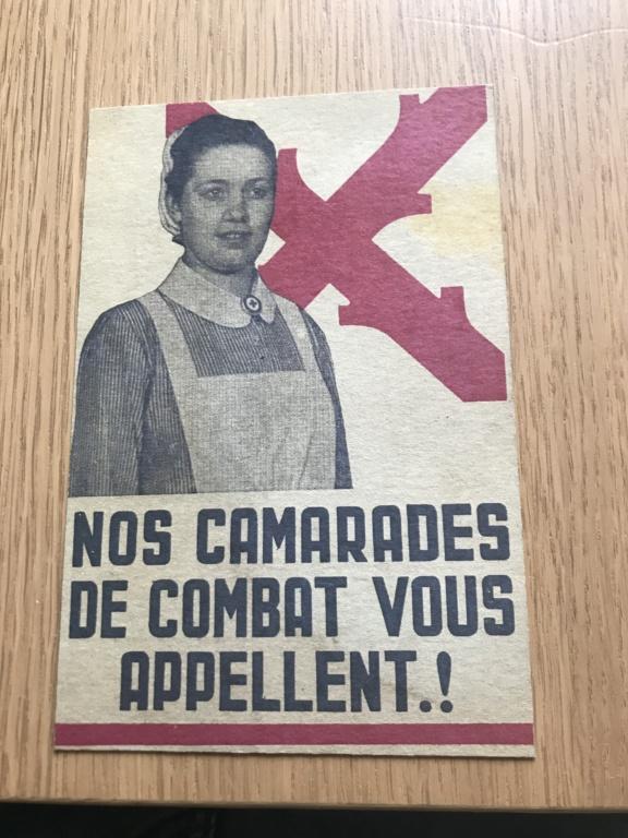 Cartes postales Légion Wallonie Dd913a10