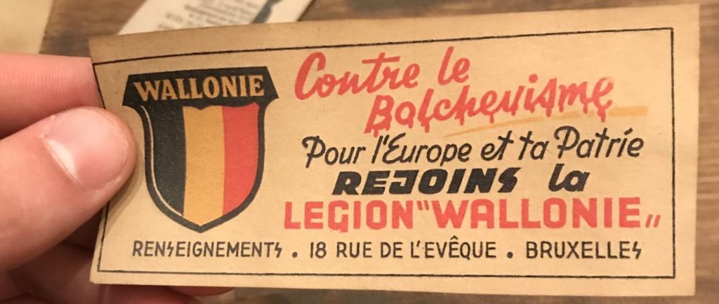 Cartes postales Légion Wallonie F5045f10