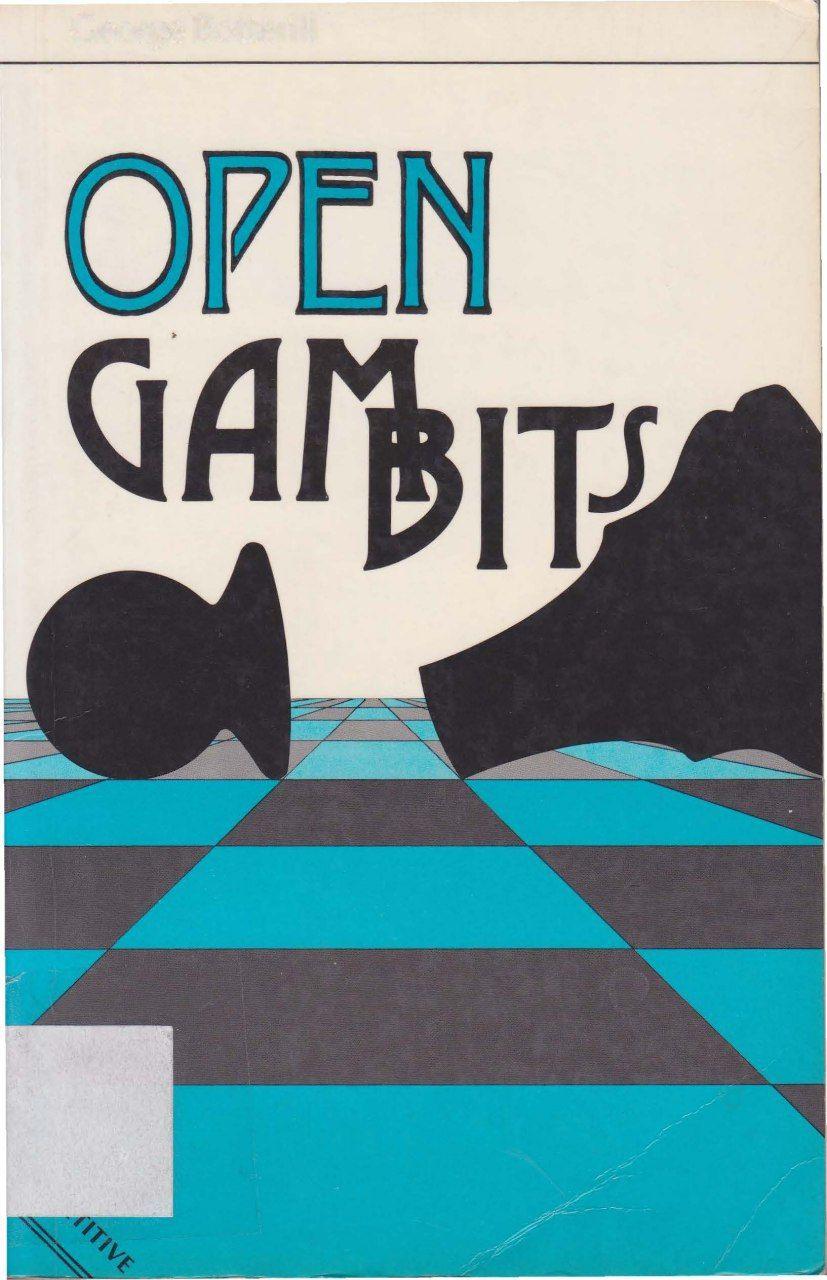 Open Gambits  (Macmillan Library of Chess) [Botterill, George Img_2525