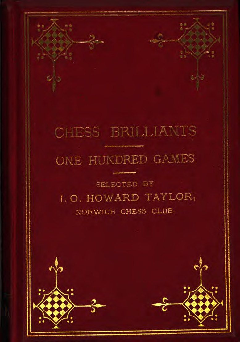 Chess Brilliants: One Hundred Games (Seventy-Five Even and Tw Img_2526