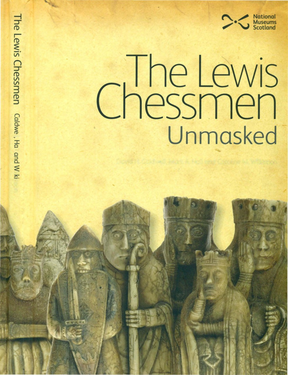 The Lewis Chessmen: Unmasked:  Book by Caldwell, David, Hall, Img_2535