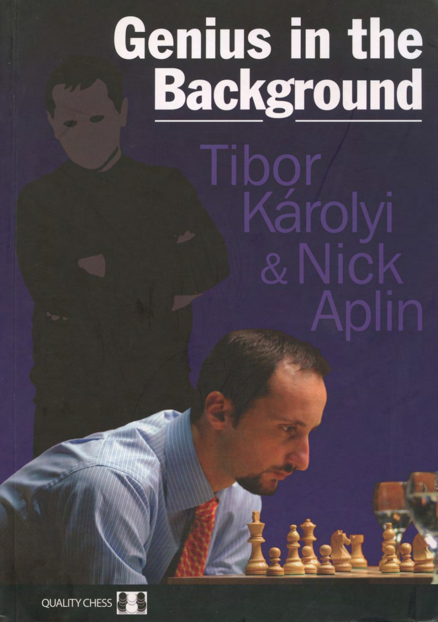Genius in the Background  Book by Nick Aplin, Tibor Karolyi Img_2555