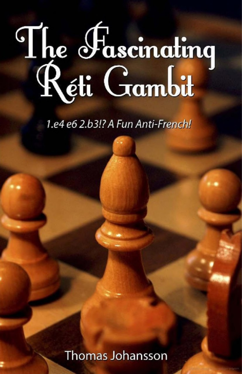 The Fascinating Réti Gambit  Book by Thomas Johansson Img_2556