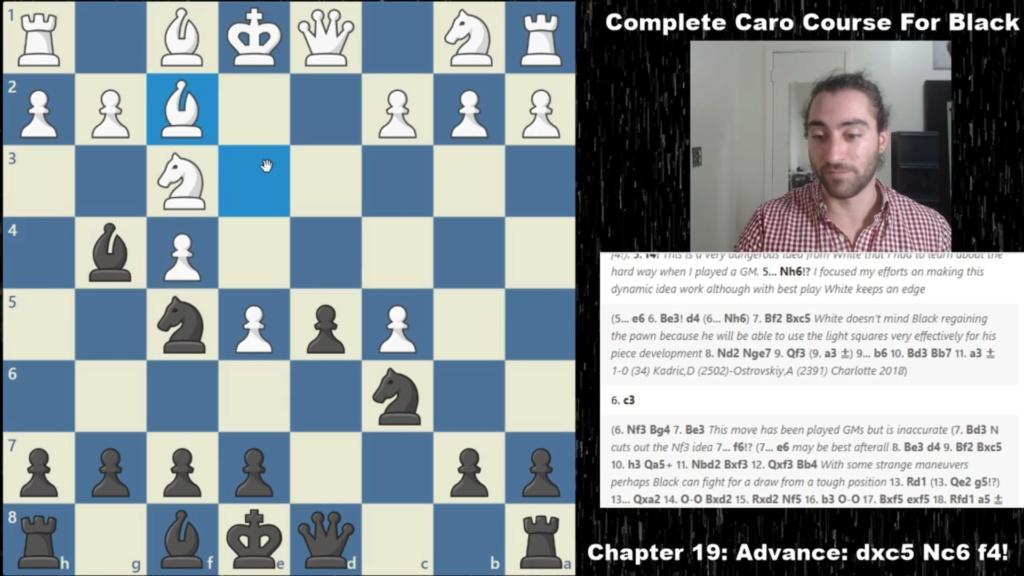 Gotham Chess Complete Caro-Kann course for Black by IM Alex O Scree114