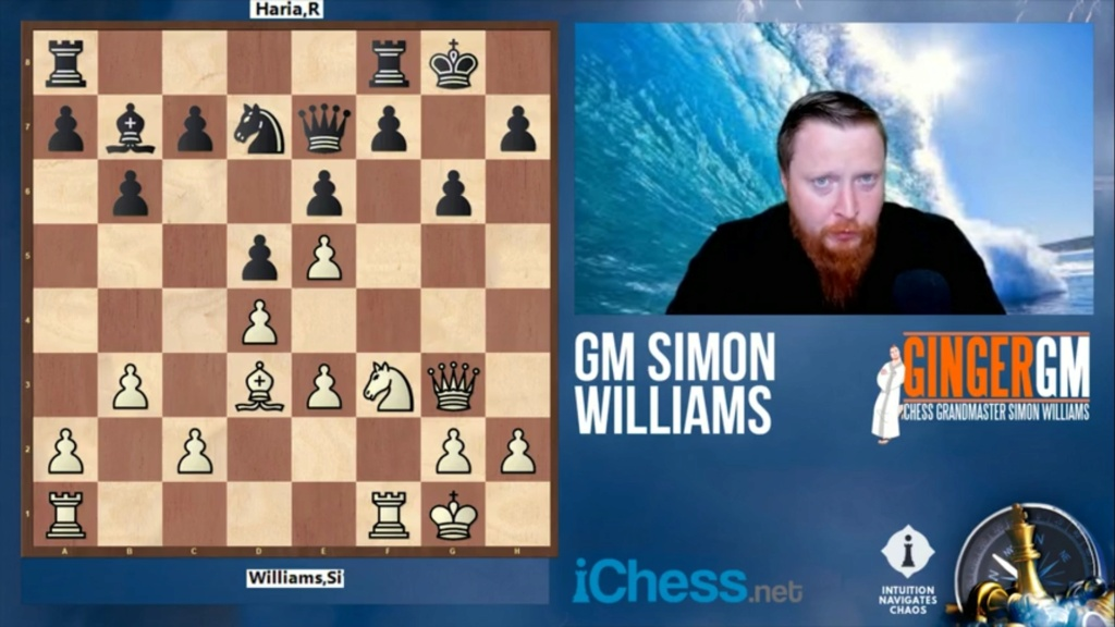 Intuition Navigates Chaos - Accelerate Your Chess | Ginger GM Screen51