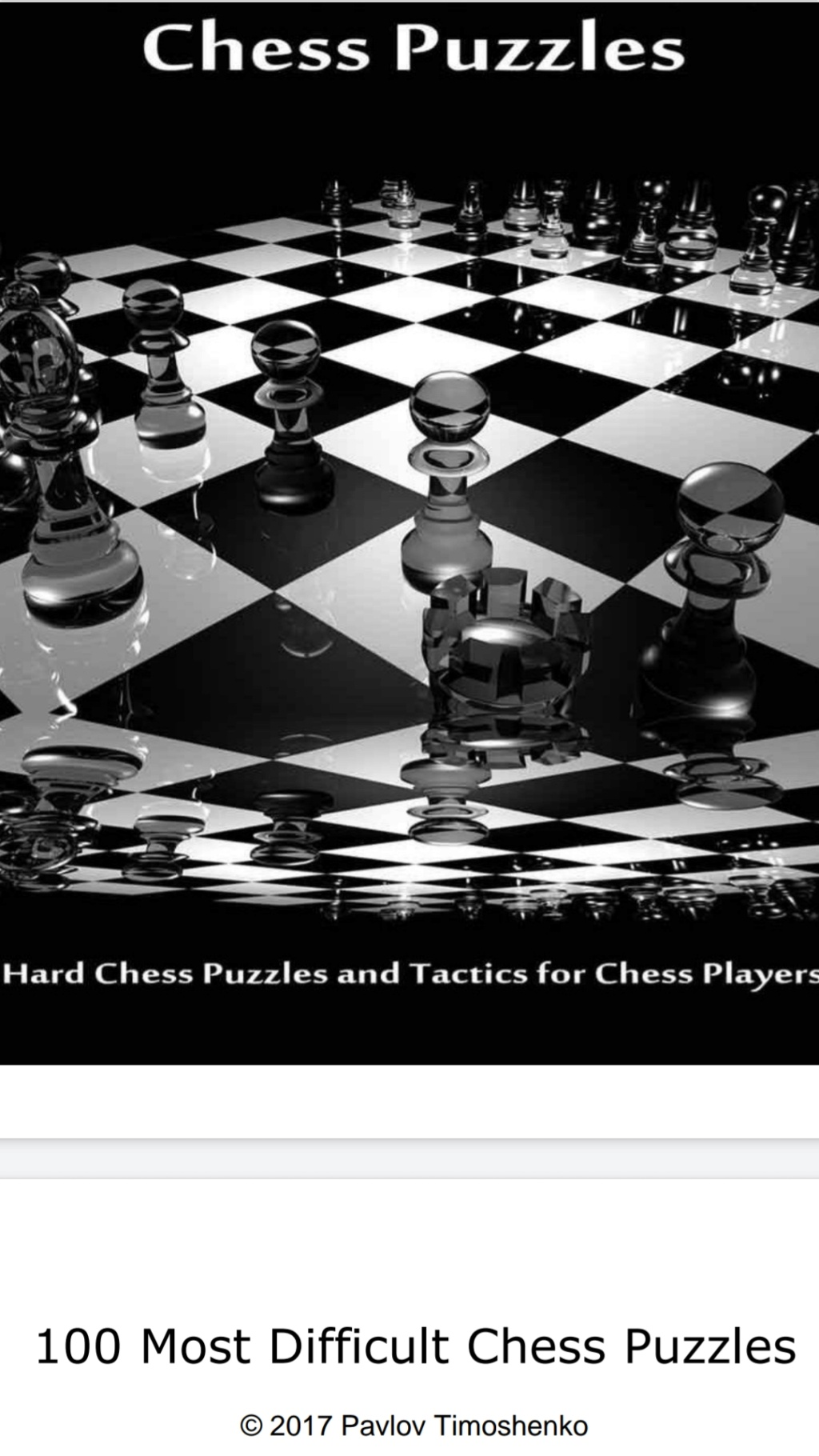 100 Most Difficult Chess Puzzles by Pavlov Timoshenko   Screen70