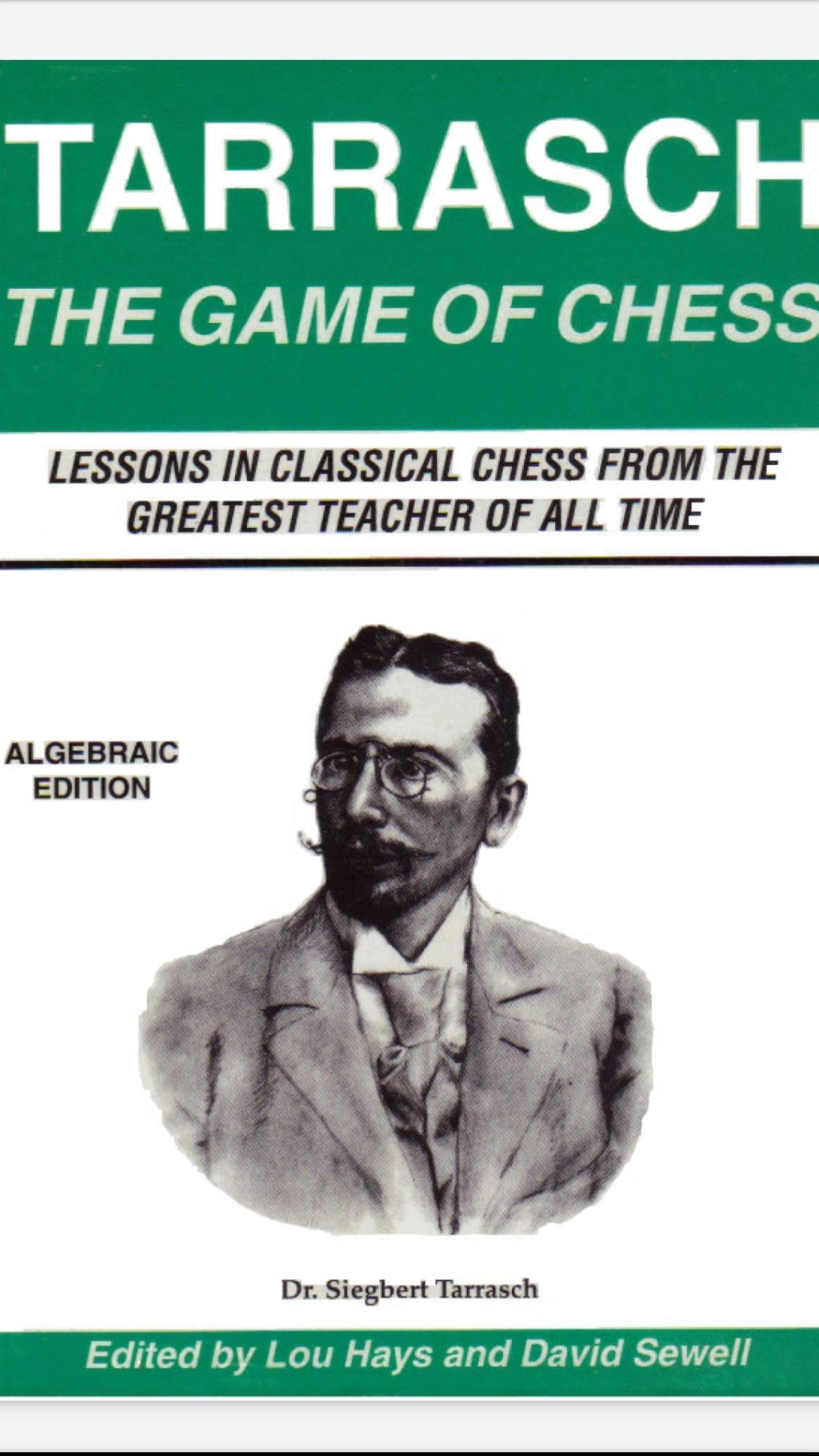 The Game of Chess (Algebraic Edition) (Dover Chess)   Book by Screen74