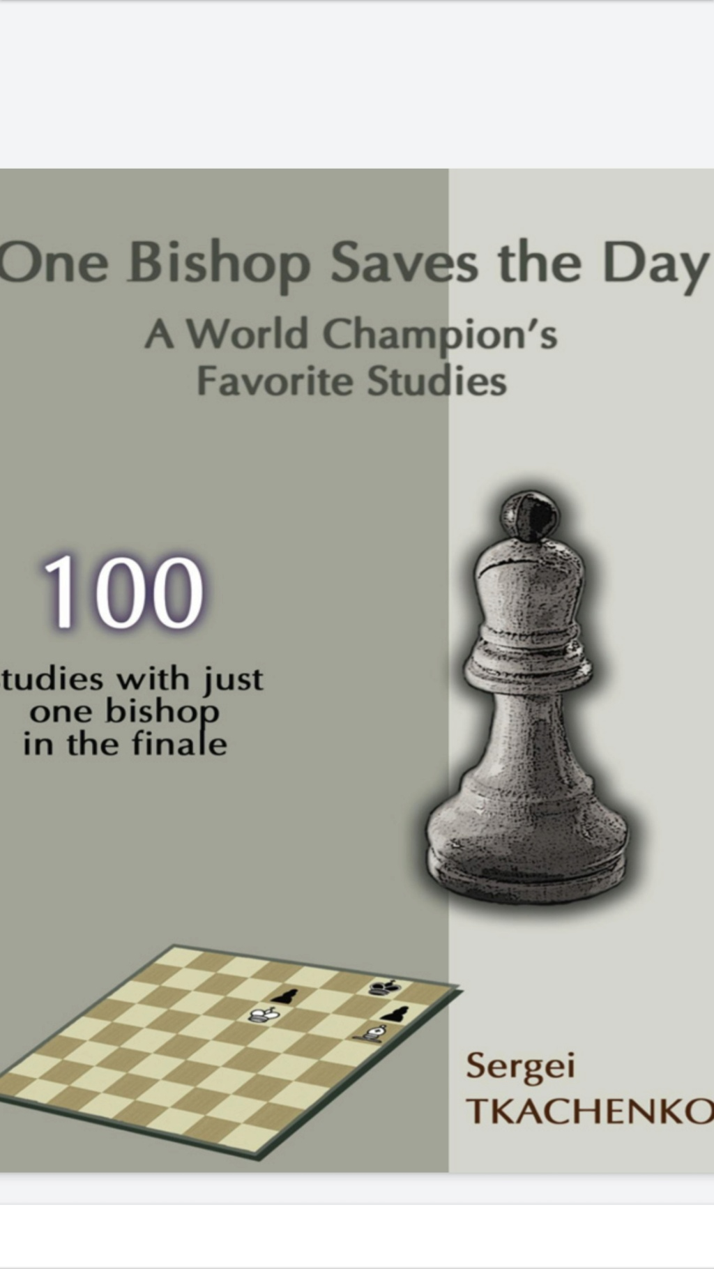 One Bishop Saves the Day: A World Champion's Favorite Studies Screen79
