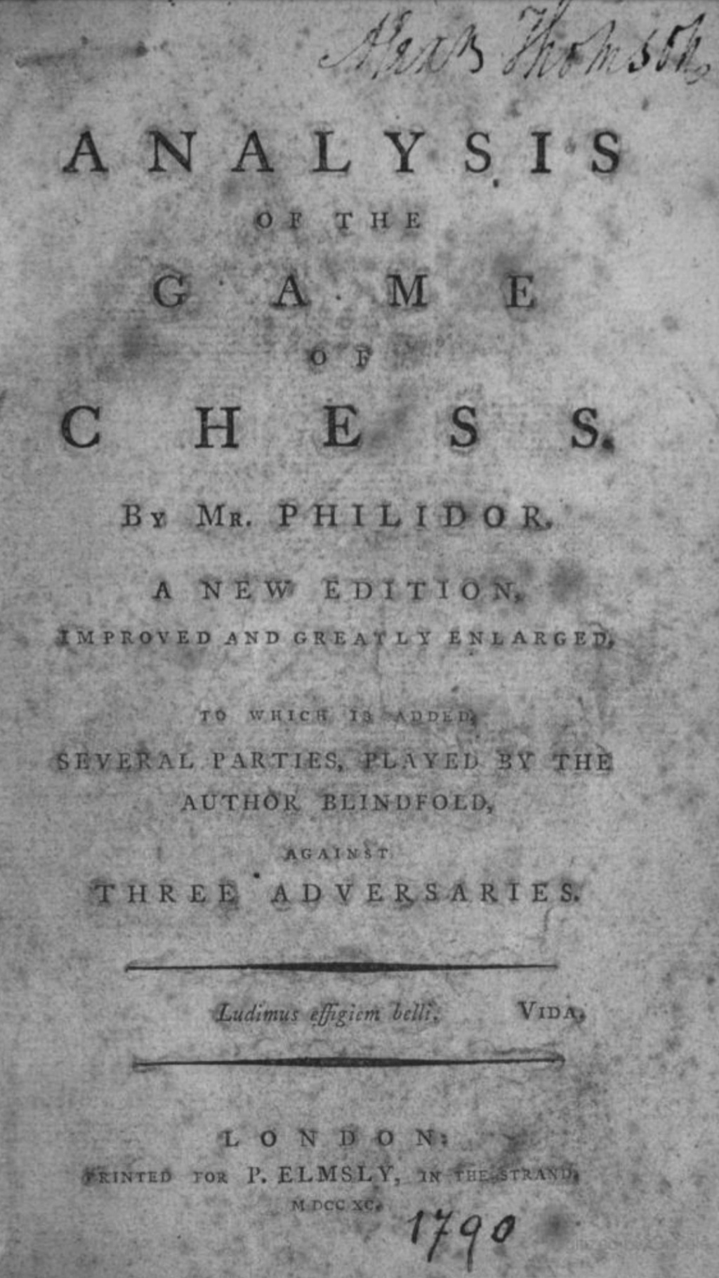 Analysis of the Game of Chess  Book by François-André Danican Screen91