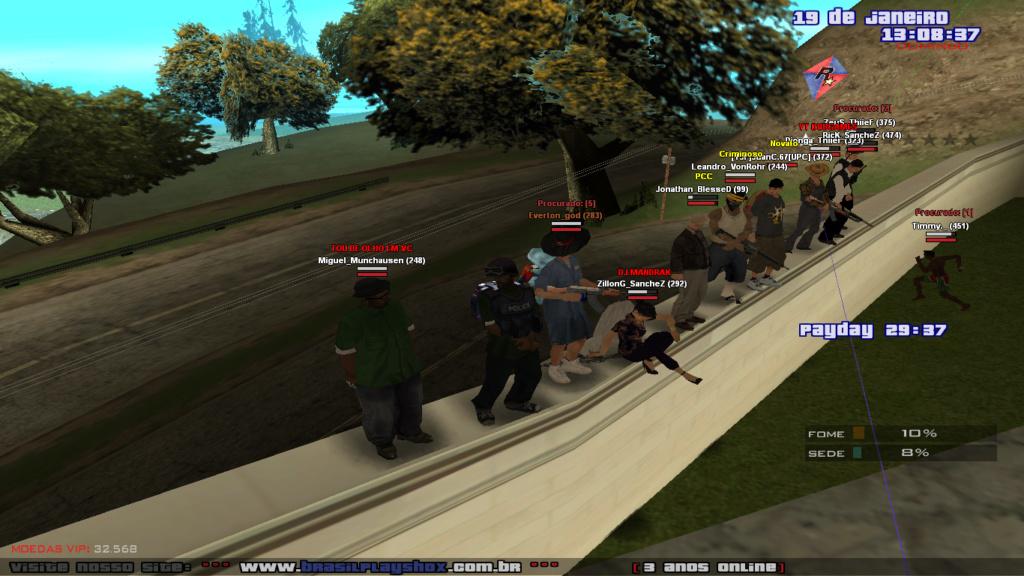 Aproveitando O Domingão Na Mansão Com Os Procurados!! Sa-mp-11