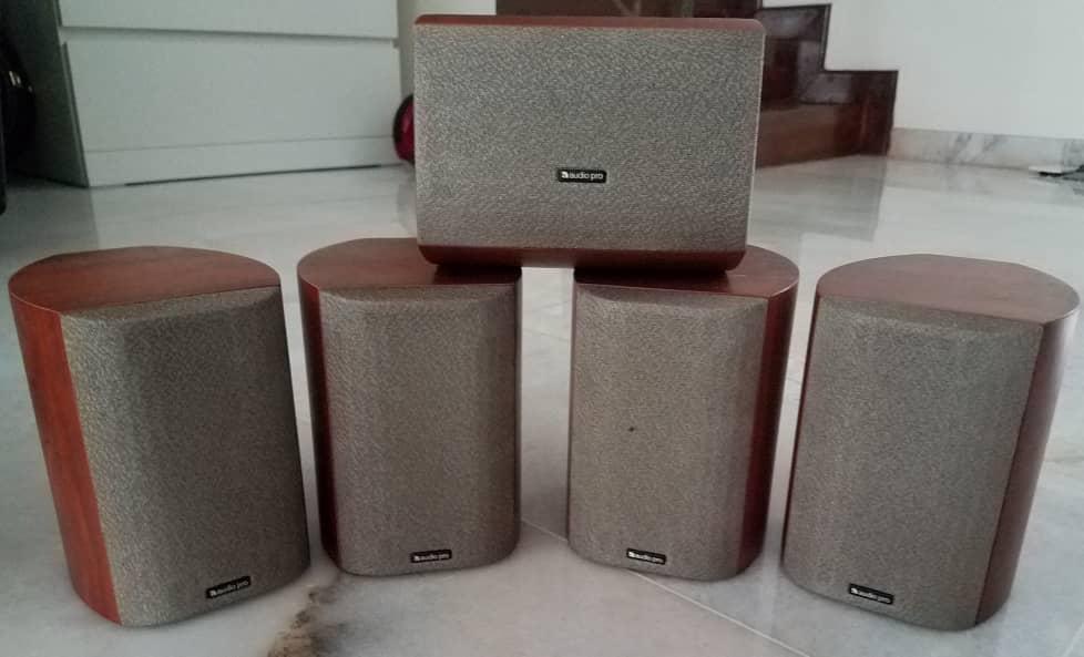 Audio Pro Complete 5.1 Speaker System + Marantz SR4500 Speake12