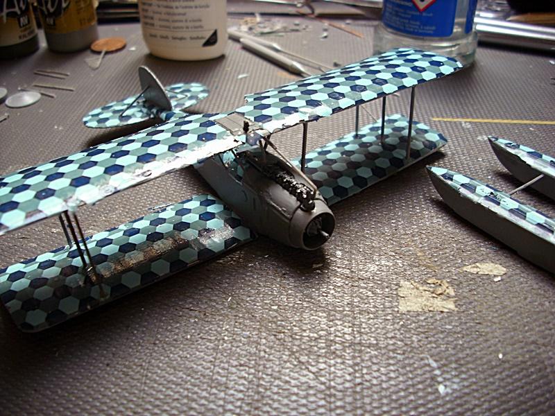 Albatros W 4 in 1:72 gebaut von OFW Dsci1020