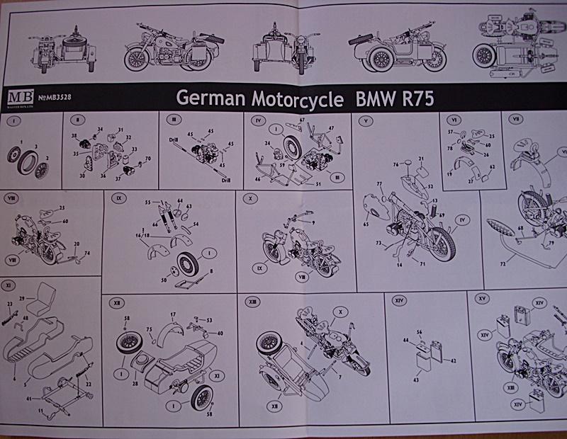 BMW R75 mit Seitenwagen/ MB, 1:35 Dsci1094